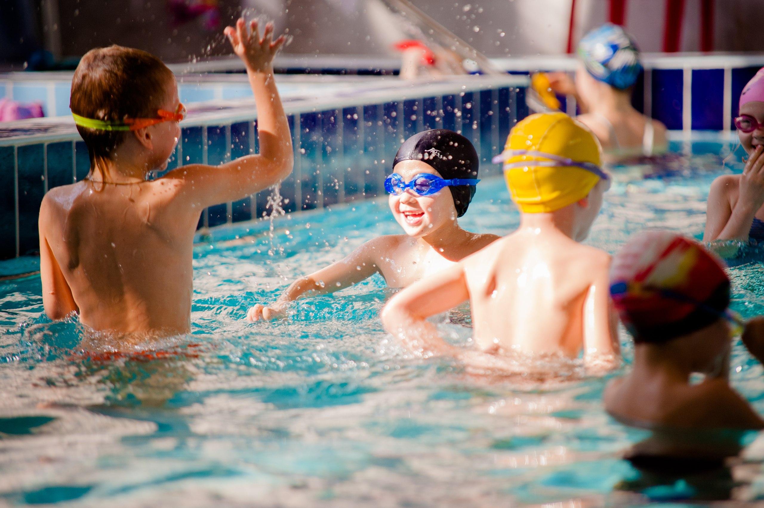 детское плавание бассейн войковская марина клаб дети 1+